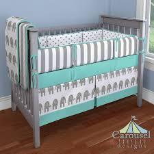 boy nursery crib white