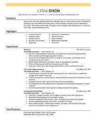 Crew Member Resume Sample No Experience Resumes Livecareer