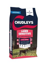 chudleys hypoallergenic lamb sensitive