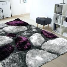 purple and grey rug thick soft rug in purple grey purple grey black rug