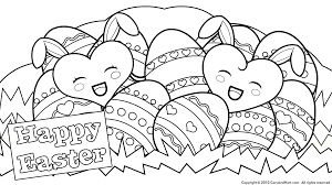 Happy Easter Coloring Pages Free Large Images Fun Stuff For Kids