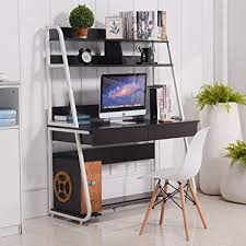 bookshelf with drawers. Interesting Drawers Emall Life MultiFunctional Computer Desk With Bookshelf And Drawers Home  Office PC Laptop Study Inside With E