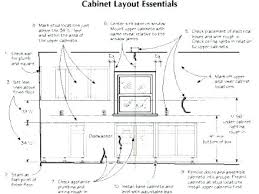 Standard Height For Kitchen Cabinets Unique Ideas