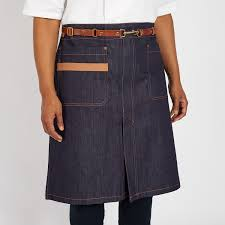 short waist a with leather belt