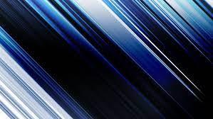 Abstract blue lines motion blur ...