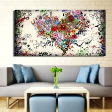 big canvas pictures modern big canvas wall art canvas painting watercolor heart flowers abstract wall pictures big canvas pictures lily wall art  on large canvas wall art australia with big canvas pictures over pieces of art canvas framed prints large