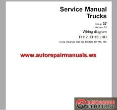 volvo truck fh12 fh16 1998 service manual auto repair manual more the random threads same category workshop manual fuel system volvo engine tamd · volvo truck