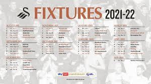 swansea city s 2021 22 fixtures