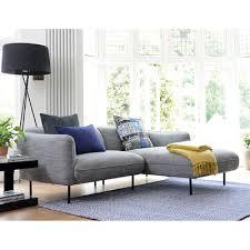 valletta right hand corner sofa dark grey