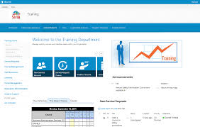 Employee Training Management Training Department Application For Office 365 And