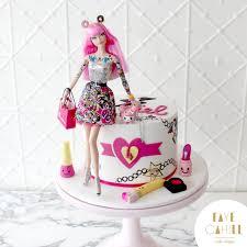How To Make A Barbie Birthday Cake
