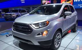 new car launches fordFord EcoSport Facelift Spotted Testing In India Again Launch This