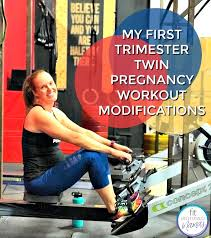 my first trimester twin pregnancy