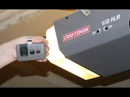 craftsman garage door opener remoteHow to Program Craftsman Garage Door Opener remote DIY 12 HP and