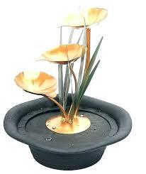 tabletop fountain zen small diy rock desk water