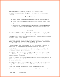 Free Joint Venture Agreement Cards Jvement Awesome Create Professional Joint Template Free Of 19