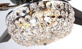crystal ceiling fan light kit incredible ceiling fan clear crystal intended for light kits for ceiling