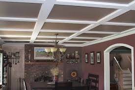 the stylish look of drop ceiling tiles