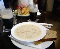 Ireland - Seafood chowder ...