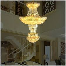 large chandeliers for high ceilings square led crystal chandelier square