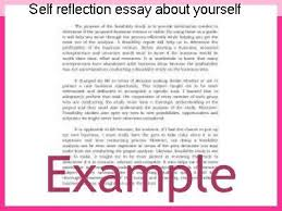 self image essay self reflection essay about yourself homework service