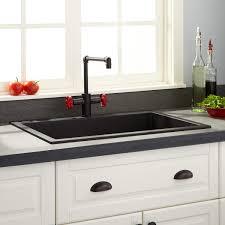 Granite Composite Kitchen Sink 30 Holcomb Drop In Granite Composite Sink Black Drop In