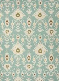 flat weave tribal pattern light blue and ivory wool area rug romantic