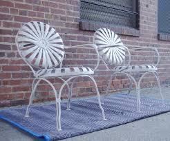 deco garden furniture. pr carre sunburst spring steel art decovictorian porchgardenpatio arm chairs deco garden furniture m