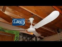litex utility industrial ceiling fan hd remake