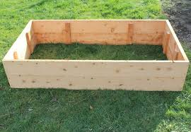 from 60 for a macrocarpa raised garden bed in two sizes delivery pick up