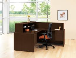office desk small space. fascinating office desk small space corner spaces throughout reception s