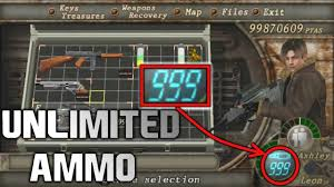 resident evil 4 how to get any weapon infinite ammo cheat engine 100 working