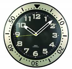 timekeeper 515bb 12 inch round glow in the dark wall clock