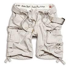 Surplus Division Mens Cargo Shorts Brown Xl Clothing