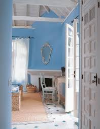rincón dormitorio azul azul turquesa