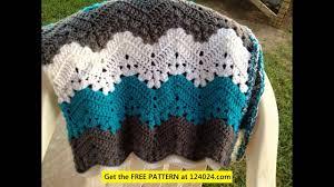 Easy Ripple Crochet Pattern Simple Design Inspiration