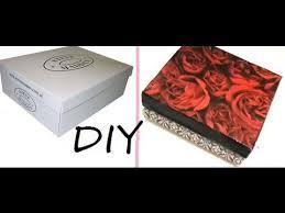 Decorative Shoe Box DIY Storage Box Recycle Your Shoebox TimeLapse YouTube 28