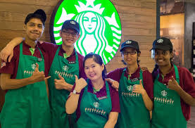 jobs with deaf people deaf partners build careers at starbucks store in malaysia