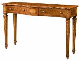 mahogany hall table. Serpentine Mahogany Console Table Hall