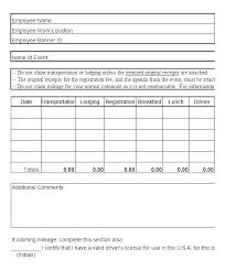 Car Mileage Claim Form Travel Expenses Claim Form Template