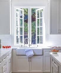 farmhouse sink under push out kitchen windows view full size