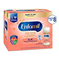 Enfamil Newborn Formula Feeding Chart Enfamil Ar Ready To Feed Spit Up Baby Formula Milk 2 Fluid Ounce Nursette 48 Count Omega 3 Dha Probiotics Immune Brain Support