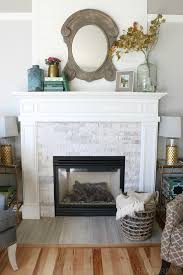 gorgeous fireplace with white stacked stone the inspired room