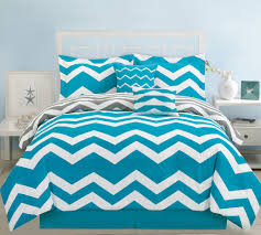 beach bedroom design with chevron teal bedding set bold colors chevron patterns pattern comforter
