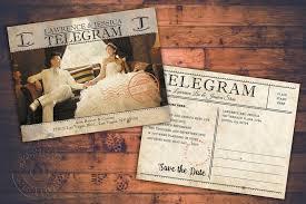 Vintage Postcards Wedding Invitation Programs Save The Date