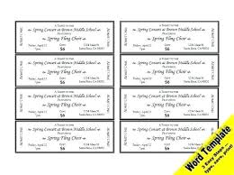 Template Raffle Tickets Free Download Sample Raffle Ticket Coupon Printable Template Format