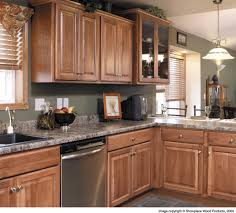 Hickory Kitchen If You Want Light Counters Then Hickory With Some Stain Would Be