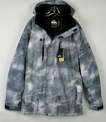 Quiksilver Mens Mission Printed Ski Jacket Eqytj03186 Simple
