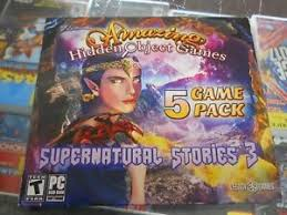 Play the best free hidden object games online with hidden clue games, hidden number games, hidden alphabet games and difference games. Amazing Hidden Object Games Supernatural Stories 3 5 Game Pk Pc Dvd 2018 New Ebay