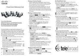 Cisco 525g Quick User Guide And Keys Layout Teleboard Support